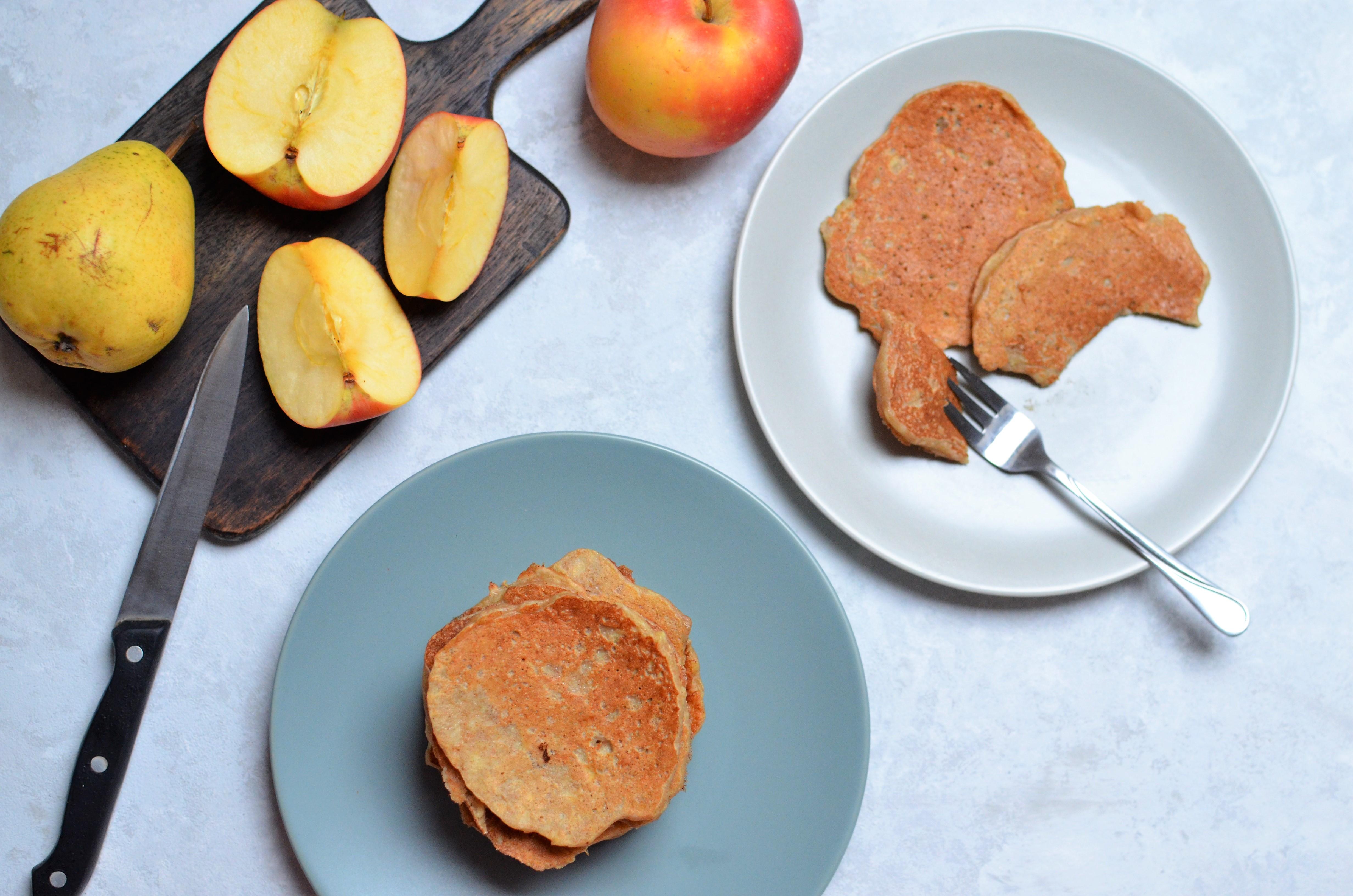 Placuszki gruszkowo-jabłkowe.