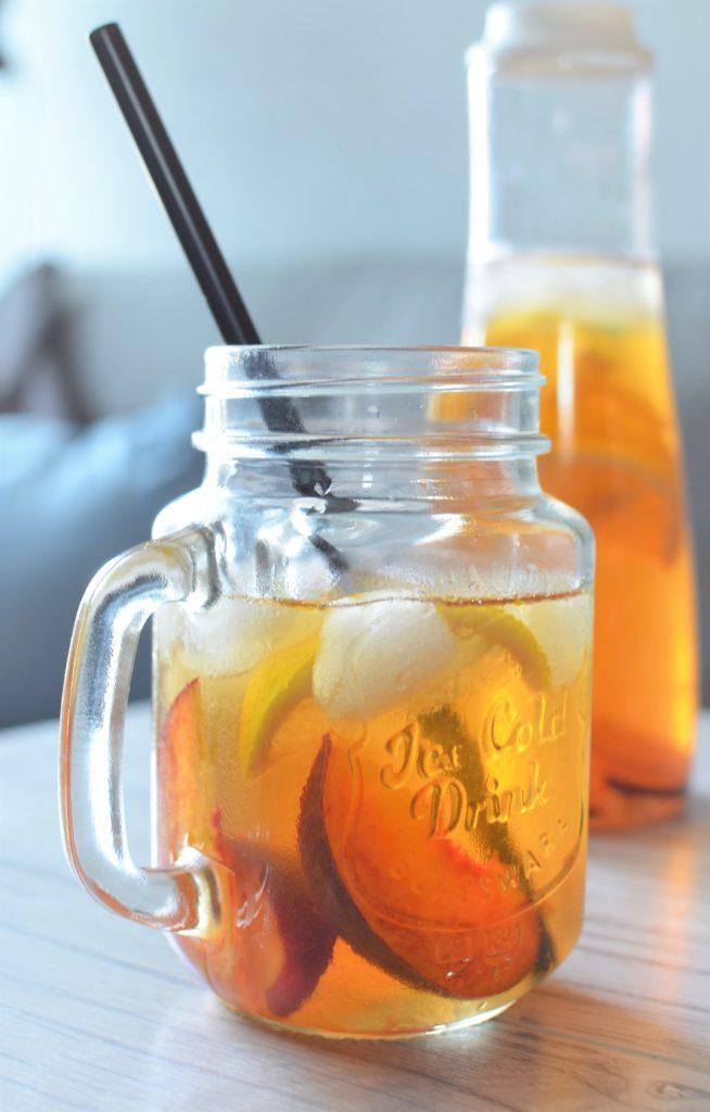 Ice tea brzoskwiniowa.