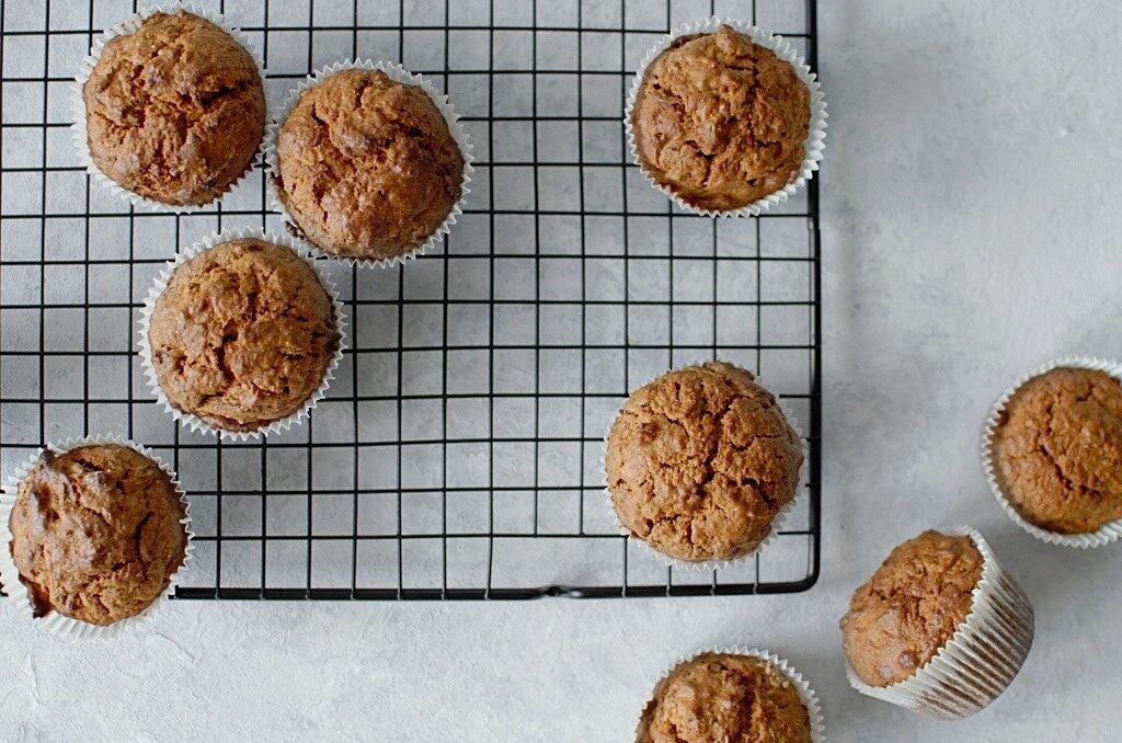 Muffinki marchewkowe z p