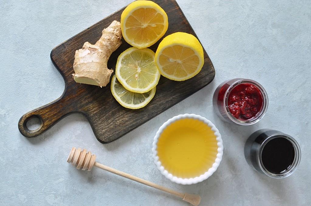 Rozgrzewająca herbata zimowa.