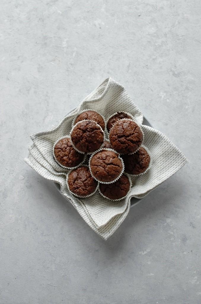 Muffinki z cukinii na słodko.